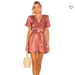 NWT House of Harlow x revolve Annika copper dress